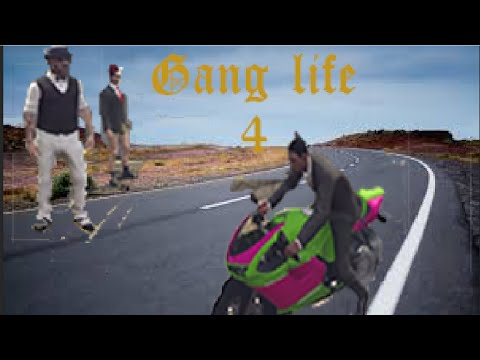 [GTA5 Online on PS4]GANG LIFE Ep.4 The police chase