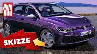 VW Golf 8 GTI Fire & Ice: Skizze - Neuauflage - Infos by Auto Bild