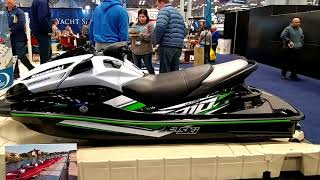 5. 2018 KAWASAKI ULTRA 310X JET SKI ON DISPLAY @ NEW YORK BOAT SHOW