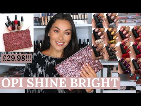 OPI SHINE BRIGHT CHRISTMAS COLLECTION | Beauty's Big Sister