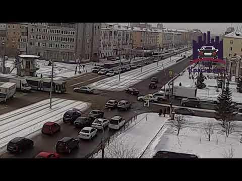 Красноярский рабочий - Сибирский переулок 16.02.2018