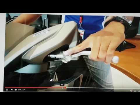 Yamaha neo com freio de estacionamento