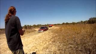 Jeep Breaks Axle Pulling Out F150