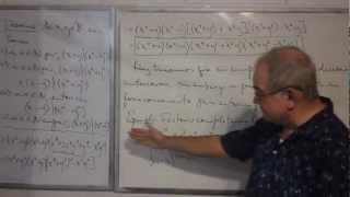Algebra Intermedia - Lección 21 - A (otras Factorizaciones Del Trinomio De Tipo Cuadrático)