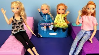 Video At the HOTEL ! Elsa and Anna toddlers - unpacking - bedtime - vacation trip - bath MP3, 3GP, MP4, WEBM, AVI, FLV Juni 2019