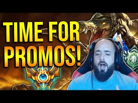 SoloRenektonOnly - [DAY 42 PT2] TIME FOR PROMOS! WILL I GET BACK INTO D3?!?!