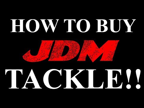 HOW TO BUY TACKLE FROM JAPAN