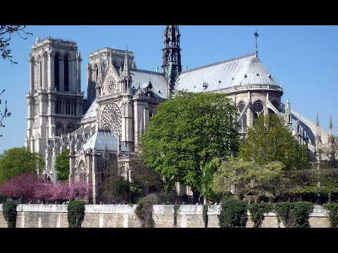 The Cathedral Of Notre Dame Paris Before The Fire Video Khan