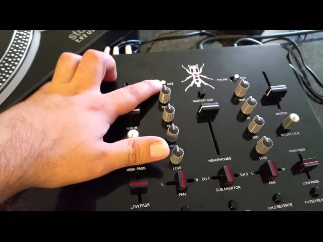 Unreleased DJ-Tech Thud Rumble TRX Mixer (OVERVIEW