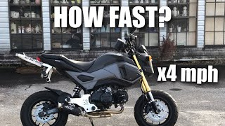 10. Honda Grom ACTUAL Top Speed (WATCH BEFORE YOU BUY)