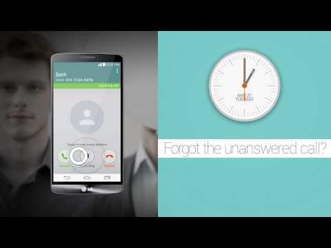 "LG G3 - prezentacja funkcji ""Smart Notice"""
