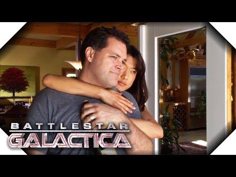 Battlestar Galactica   Tyrol and Boomer's Projection