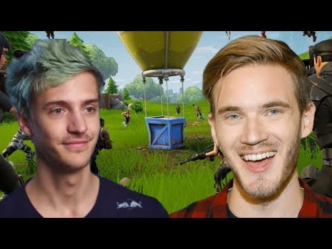 PEWDIEPIE FORTNITE FRIDAY Ft. NINJA | Fortnite Friday Livestream PewDiePie And Ninja Duo