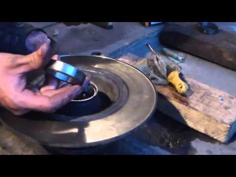 Toyota auris подшипник ступицы как менять видео