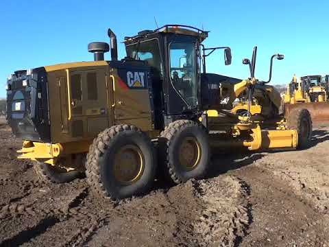 CATERPILLAR モータグレーダ 140M2 equipment video HivXSzz3dgE