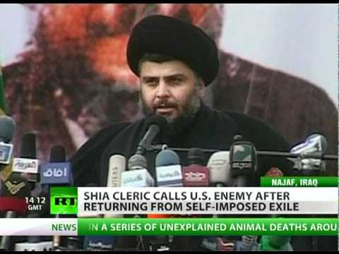 Sadr calls for peaceful resistance