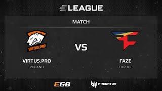 Virtus.pro vs FaZe, map 1 nuke, ELEAGUE Season 2