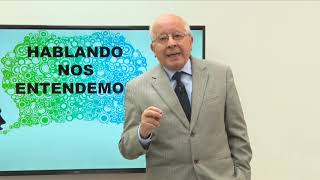 HABLANDO NOS ENTENDEMOS - INVITADO DR RODRIGO BORJA TEMA LEXICOGRAFÍA