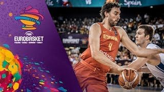 Czech Republic v Spain - Highlights - FIBA EuroBasket 2017