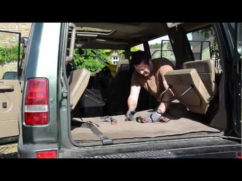How to repair Land Rover Discovery floor