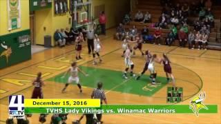 TVHS Girls Basketball vs. Winamac Warriors