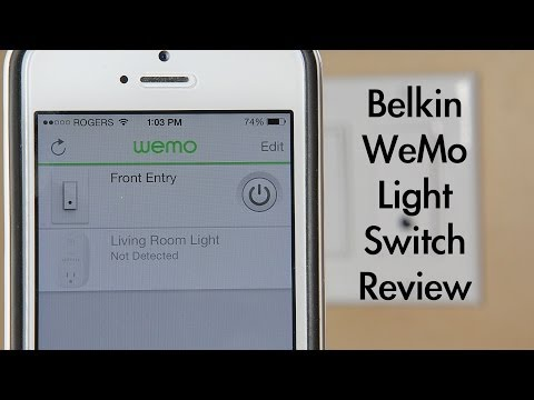 Belkin WeMo Light Switch Review