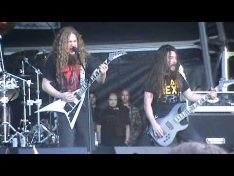 Angelus Apatrida - Thrash Attack [Derrame Rock 2012 - HD]