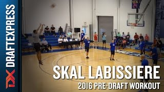 Skal Labissiere NBA Pro Day Highlights from IMG Academy