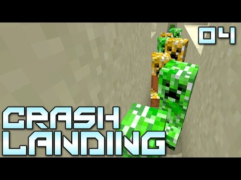 Crash - Minecraft Crash Landing Mod Pack - Show this video some LOVE if you're excited about this series!!! You've managed to crash land on a dry, dusty planet. No water, no food, no real supplies....