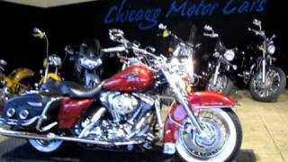 9. 2004 Harley-Davidson FLHRCI ROAD KING CLASSIC C6166