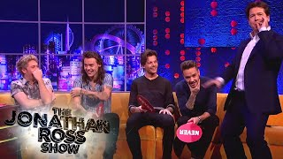 One Direction Play Never Have I Ever - The Jonathan Ross Show