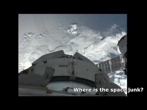 Video from ISS of Space Junk passing by from NASA