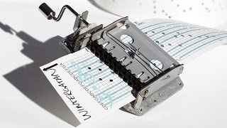 Video How To Program a Music Box - Hole Punch Tutorial MP3, 3GP, MP4, WEBM, AVI, FLV November 2018