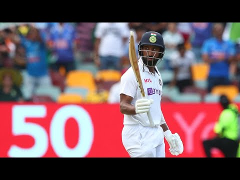 Pujara digs deep for gritty fifty in India's run chase | Vodafone Test Series 2020-21