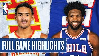 HAWKS at 76ERS   FULL GAME HIGHLIGHTS   February 24, 2020 by NBA