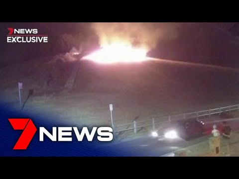 Police closing in on teenagers suspected of starting Cecil Hills fire with illegal fireworks | 7NEWS