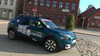 """AutoMedia Latvia"" tests: no jauna uzplaucis kaktuss - ""Citroen C4 Cactus"""