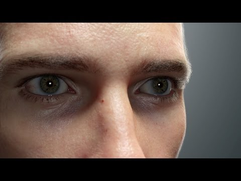 Ed a HyperRealistic CGI Model of a Man by Artist Chris