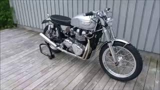 6. Rewheeled #6 Triumph Bonneville Scrambler