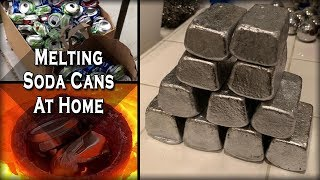 Video Melting Aluminum Cans At Home - Easy DIY Recycling Process MP3, 3GP, MP4, WEBM, AVI, FLV September 2019