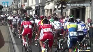 Saint-Maixent-l'Ecole France  city photo : Départ 1ère étape Tour Poitou-Charentes 2013 - Saint-Maixent-l'Ecole