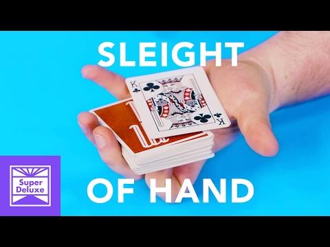 Mesmerizing Sleight of Hand Card Tricks