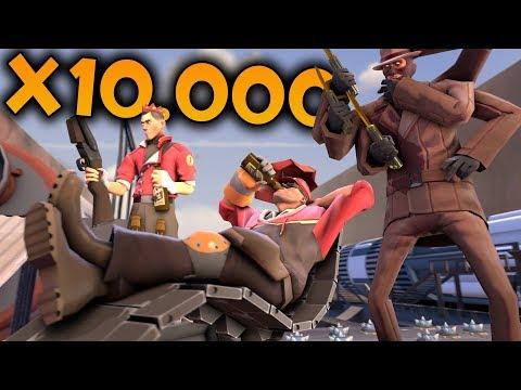 TF2 X10.000: МАКСИМАЛЬНОЕ БЕЗУМИЕ!