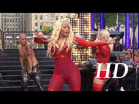 """Nicki Minaj """"Pound The Alarm"""" Live from """"Today Show"""" 2012"""