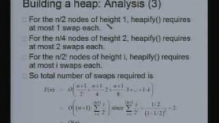 Lecture - 21 Binary Heaps