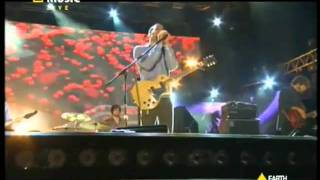 Ben Harper & Relentless7 - Up to you now - Live@Rome Piazza del Popolo  EarthDayItalia 2009