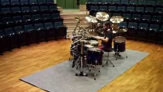 Time Lapse - Setting Up The Kit (Summer 2014 Recordings)