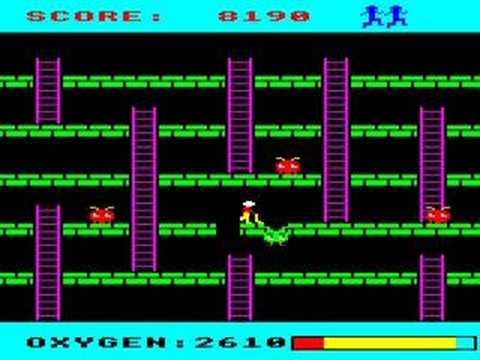 BBC Micro game Monsters