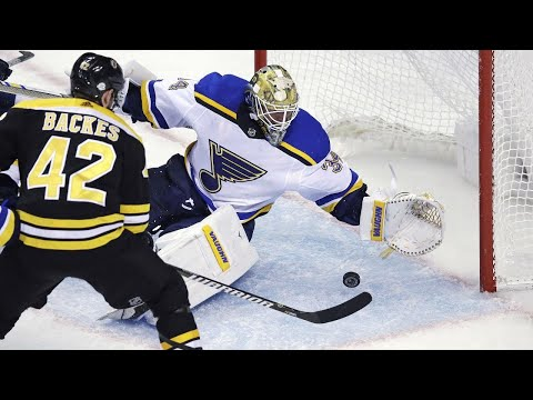Video: Tim and Sid: Goalie interference, Neal's batting practice, Bruins curling Jake Allen