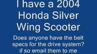 9. 2004 Honda Silver Wing